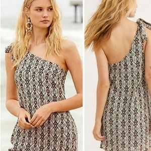 Free People Aztec Print Mini Dress - size 4